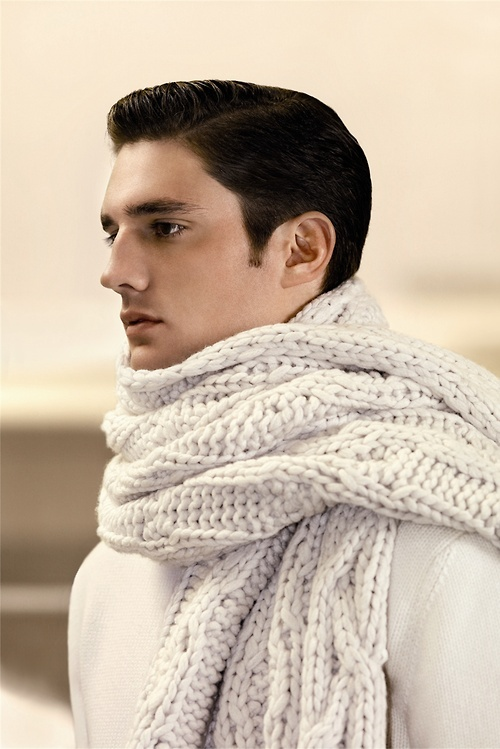 Fantastic scarf for either men or women. Loewe F/W 2013