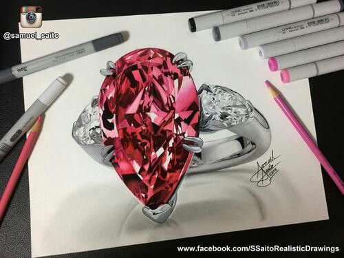 17 best ideas about diamond drawing on pinterest diamond