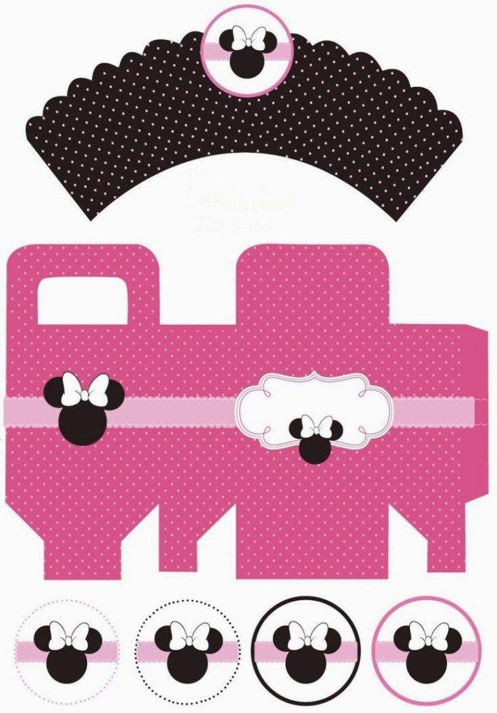 Imprimibles de Minnie en rosa7