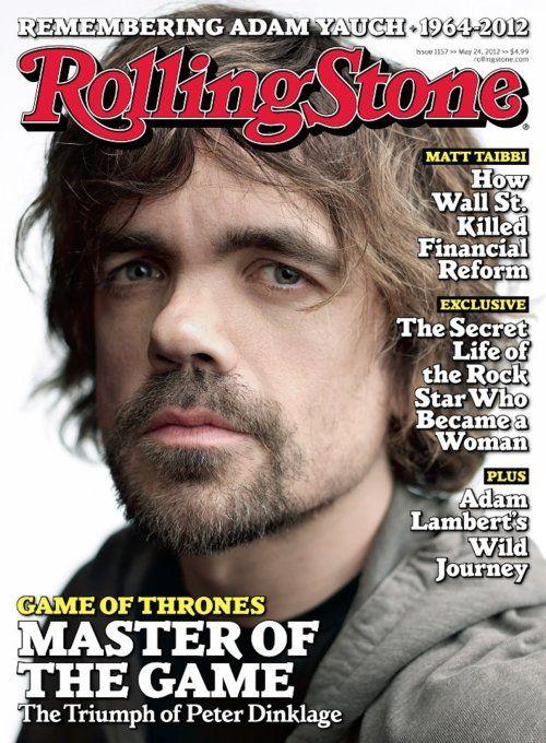 <3: Peterdinklage, Peter O'Toole, Peter Dinklage, Rolls Stones Covers, Videos Games, Games Of Thrones, Rolling Stones, The Games, Game Of Thrones