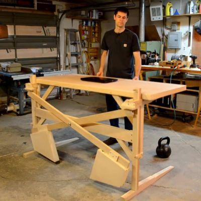 best 25 standing desks ideas on pinterest diy standing. Black Bedroom Furniture Sets. Home Design Ideas