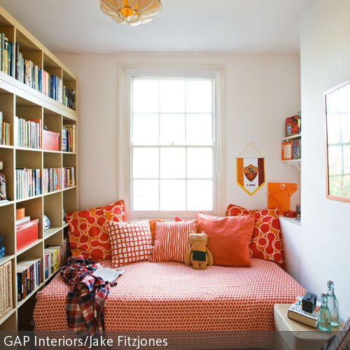 123 besten Wohnungsidee Bilder auf Pinterest Stauraum - wohnzimmer rot orange