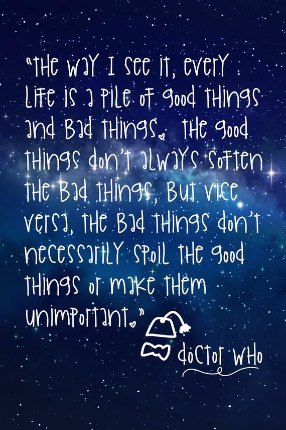 Doctor Who Life Quote Print Inspirational Quote From The 11th Doctor Great Gift For Doctor Who Fan Tardis Deep Space Doctor Quotes Life Quotes Doctor Who Wallpaper