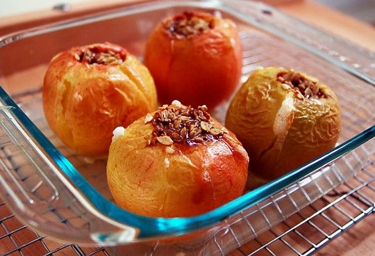 Oatmeal-Brown Sugar Baked Apples! | Tasty Treats | Pinterest