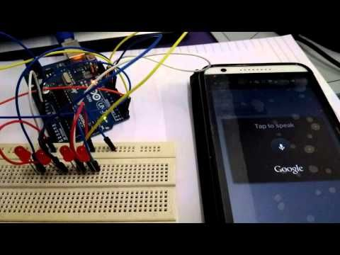 Voice to Arduino: Control LEDs Using MIT Speech Recognizer - All