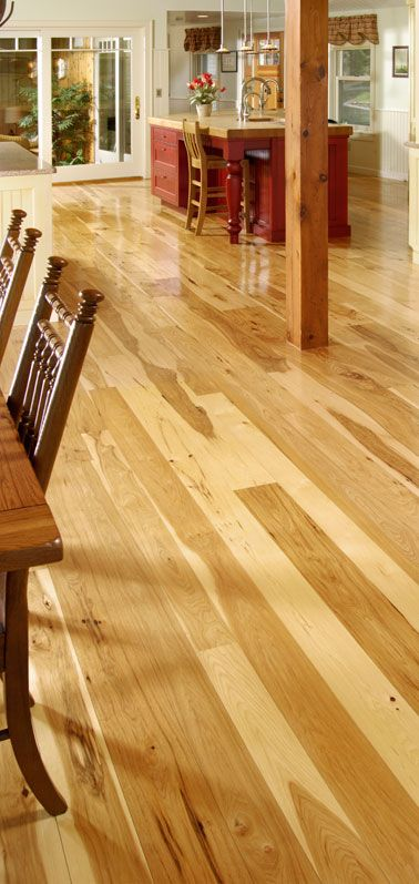 There's a reason hickory has traditionally been the material of choice by cabinetmakers. Touted as a top wood variety for its strength, durability and sheer beauty, hickory flooring by...