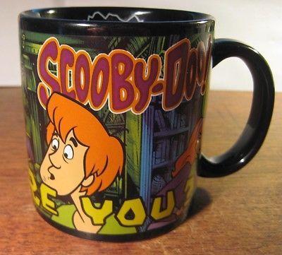 Scooby Doo Coffee Mug Shaggy Velma Dapne Fred Hidden Scooby Cartoon Network | eBay