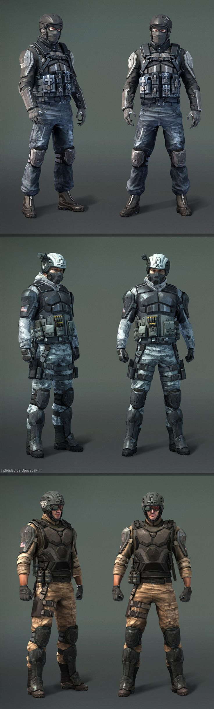I know we won't be designing the full character, but it may be an idea to change the hands so that they're wearing different attire depending on which dimension they're in. e.g - In the future, have them wearing a futuristic combat suit with modern gloves on.
