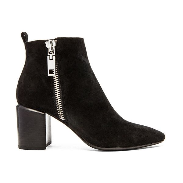 Dolce Vita Ginnee Bootie Shoes ($200) ❤ liked on Polyvore featuring shoes, boots, ankle booties, booties, side zip boots, dolce vita bootie, dolce vita, dolce vita boots and side zipper boots
