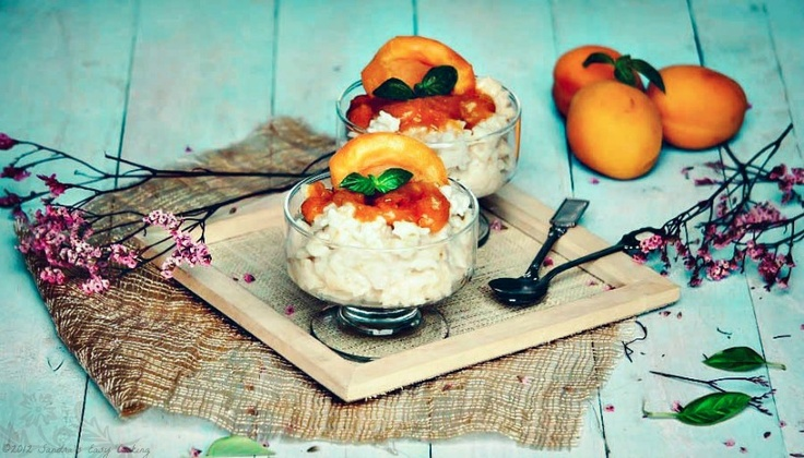 apricot and almond rice brown rice rice pudding rice pudding rice ...