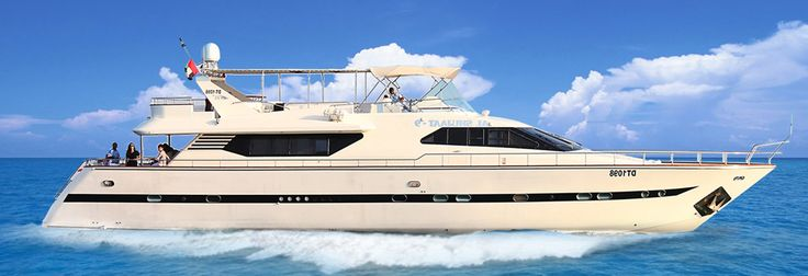 Yacht rental Dubai DayOut Dubai offer Hire a yacht in Dubai from their bunch of yachts with different sizes and capacity to fulfil your wishes! Stay it specific bookings or entire yacht charter Dubai, they have it all! To rent a yacht in Dubai call them @ +971 (4) 2959948!