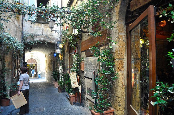 Un altro bello scorcio di Orvieto!
