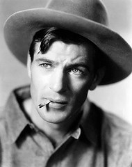 Gary Cooper -- Iwas an extra in one of his movies Court Martial Of Billy Mitchell in the fifties, i was in business college....