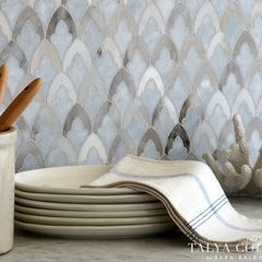 Traditional Kitchen Tile By Sara Baldwin Design