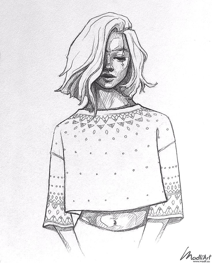 30 Trend Art Girl Quotes Craft In 2020 Girl Drawing Sketches Girl Hair Drawing Short Hair Drawing