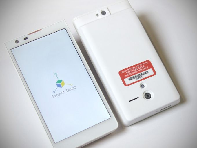 Google Launches Project Tango Smartphone To Experiment With Computer Vision And 3D Sensors | TechCrunch