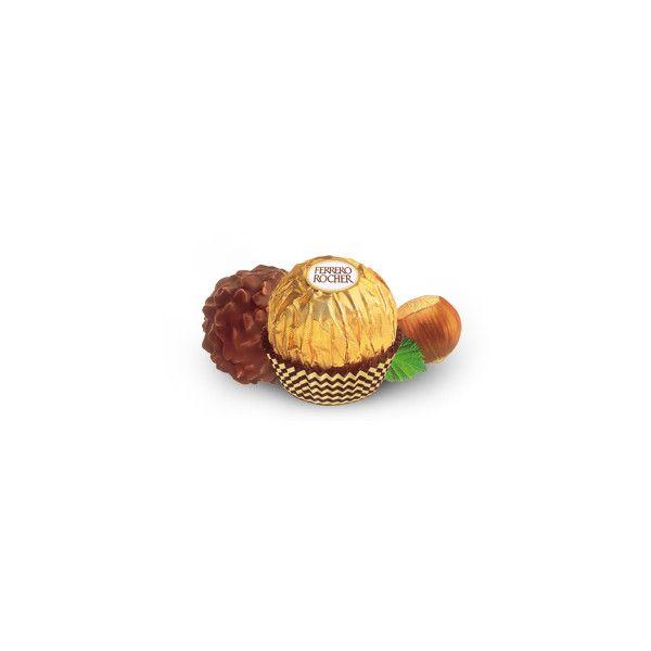 FERRERO-SPA-INDUSTRIA DOLCIARIA - Ferrero Rocher ❤ liked on Polyvore featuring comida and food