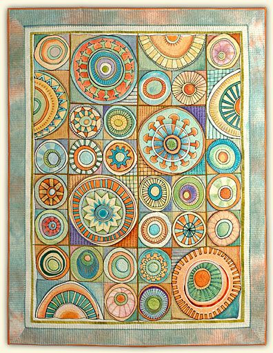 i love her quilts! check them all out at her website http://marianneburr.comQuilt Hands, Circles Http Marianneburr Com, Handmade Quilt, Marketing Marianne, Burr Quilt, Marianne Burr, Quilt Art, Hands Stitches, Art Quilting