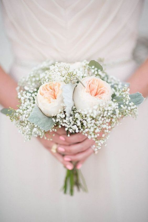 Small wedding bouquets for spring summer weddings 22