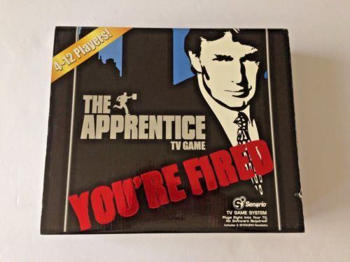 NEW-SEALED-Donald-Trump-The-Apprentice-TV-Show-Board-Video-Game-You-039-re-Fired