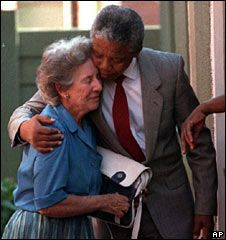 Helen Suzman - for many years the lone voice of opposition to apartheid in South African parliament.