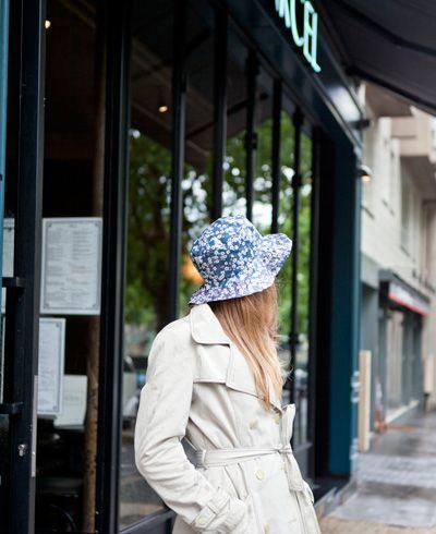 Chapeau de pluie , Patron couture gratuit