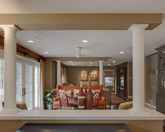 Wtsenates Extraordinary Half Wall Between Kitchen Living Room In Collection 4700
