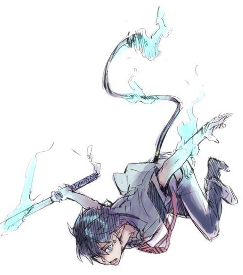 Rin Okumura    Ao no Exorcist × Blue Exorcist