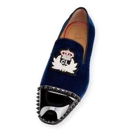 Christian Louboutin ドレスシューズ・革靴・ビジネスシューズ 【メンズ新作】 ルブタン☆Captain Loubi スエード スリッポン(5)