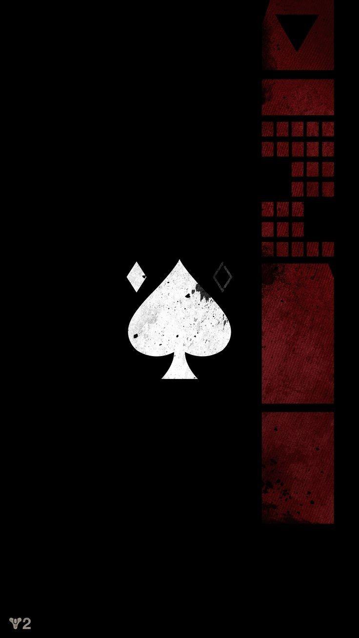 Black Card Hd Wallpaper Destiny Game Destiny Tattoo Dark Wallpaper Iphone