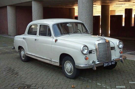 Mercedes 180 1958