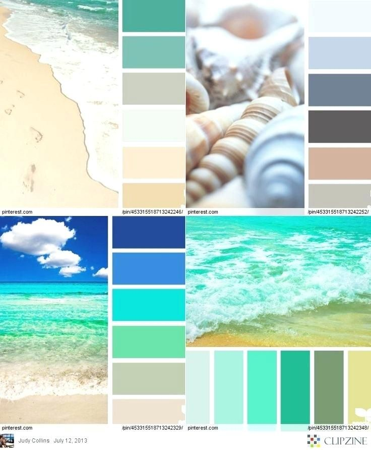 Caribbean Blue With Images Beach Bedroom Colors Beach Color
