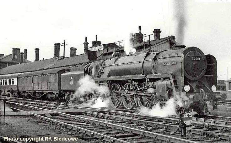 scrap yard for steam trains photos - Google Search
