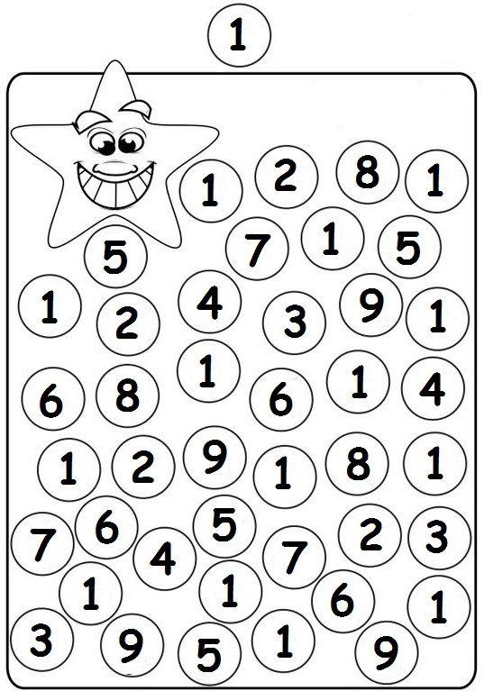 1 rakamı bulma
