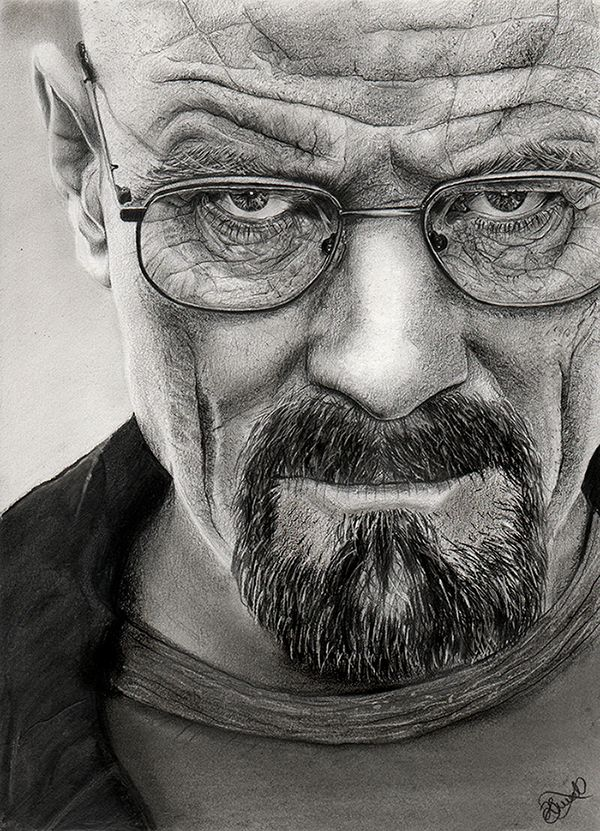 #BreakingBad Walter White by ThatArtistChick