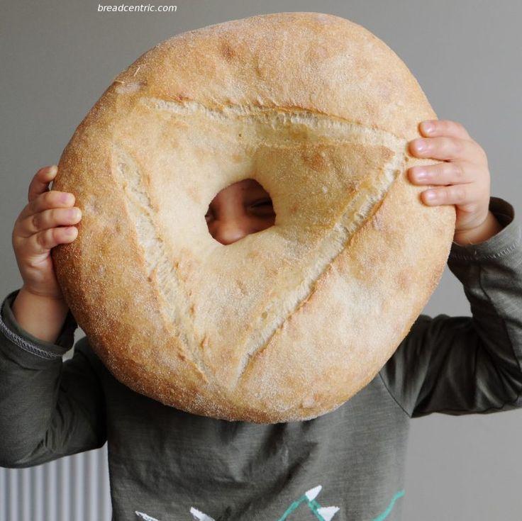Semolina bread. Chleb na semolinie. Chleb z kaszy manny, grysiku.