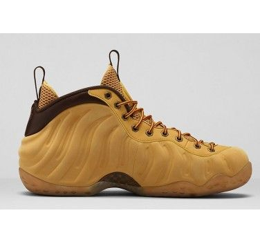nike air foamposite one wheat haystack track brown 575420 700 cheap sneaker