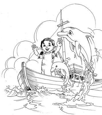 jatmika sketch & drawing: ilustrasi Cerita lumba lumba