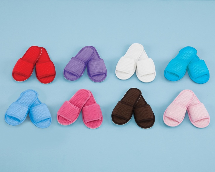 Pendergrass, Inc. - Kid's Cotton Waffle Slippers