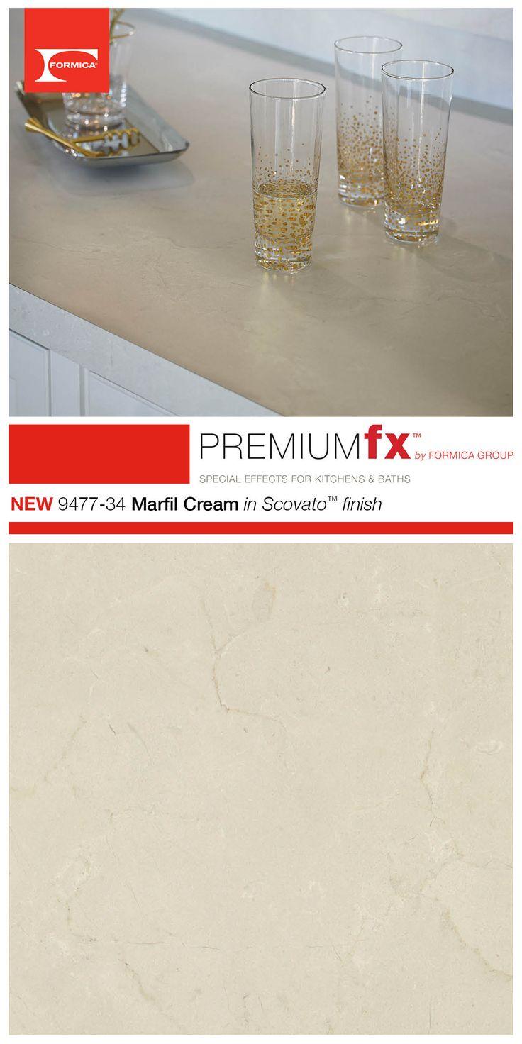 Formica® Laminate 9477-34 Marfil Cream in the new Scovato ...