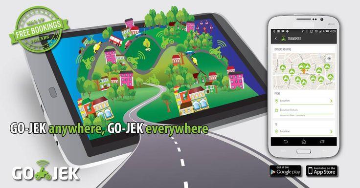 Solusi Anda untuk melakukan perjalanan dengan aman dan cepat sekitar Jakarta... #GOJEK4LIFE #transport #gojek