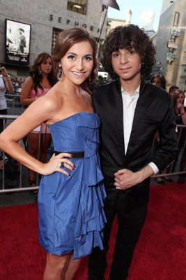 Alyson Stoner and Adam G. Sevani at event of Step Up 3D (2010)