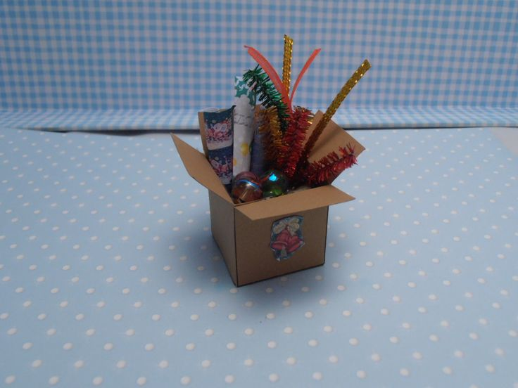 Gaël  Miniature Christmas Box Decorations. €8.50, via Etsy.
