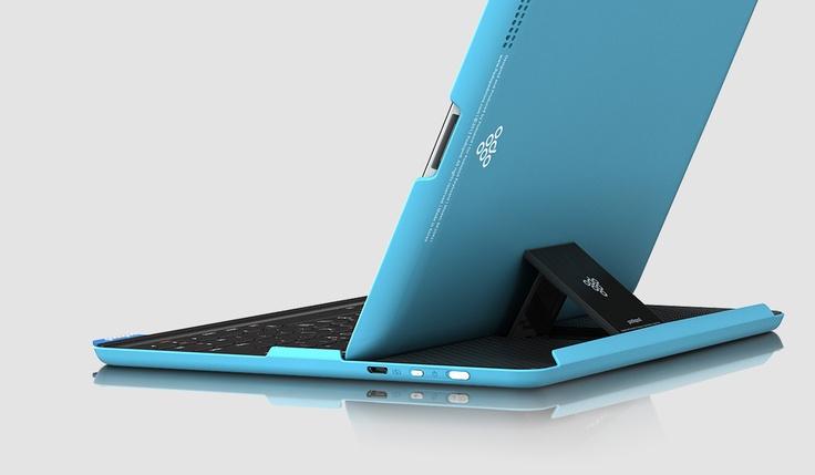 """podopod """"keyboard Case for iPad"""" iPad2 & iPad 3rd & iPad 4th Compatibility.  Made in Gangnam"""