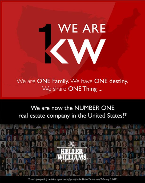 29 best keller williams realty images on pinterest real estate keller williams realty now 1 real estate company congrats to all proud to fandeluxe Choice Image