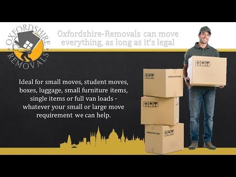 Oxford to Peterborough Removals