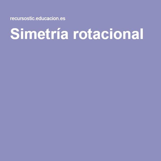Simetría rotacional