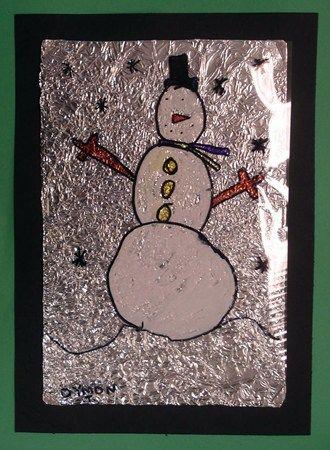 Bonhomme de neige / Alu