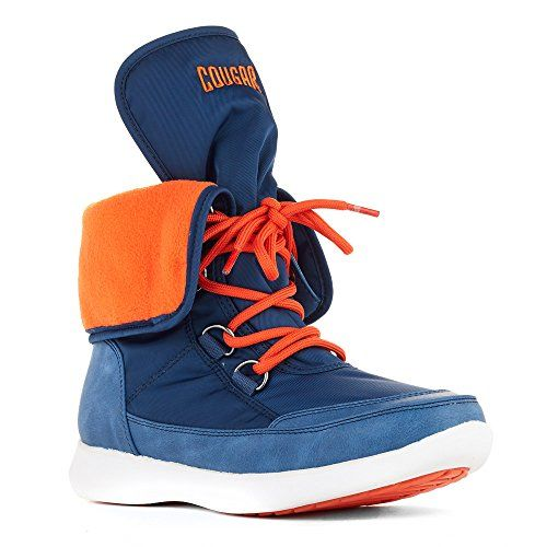 Cougar Shoes Womens Wagu Blue Nylon 10 M * To view further for this item, visit the image link.