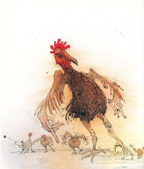 "Ralph Steadman's ""Animal Farm"" Illustrations:  http://www.juxtapoz.com/current/ralph-steadman-s-animal-farm-illustrations"